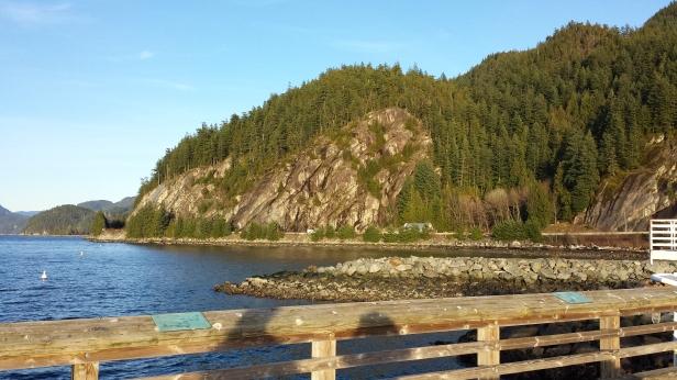 Porteau Cove facing North